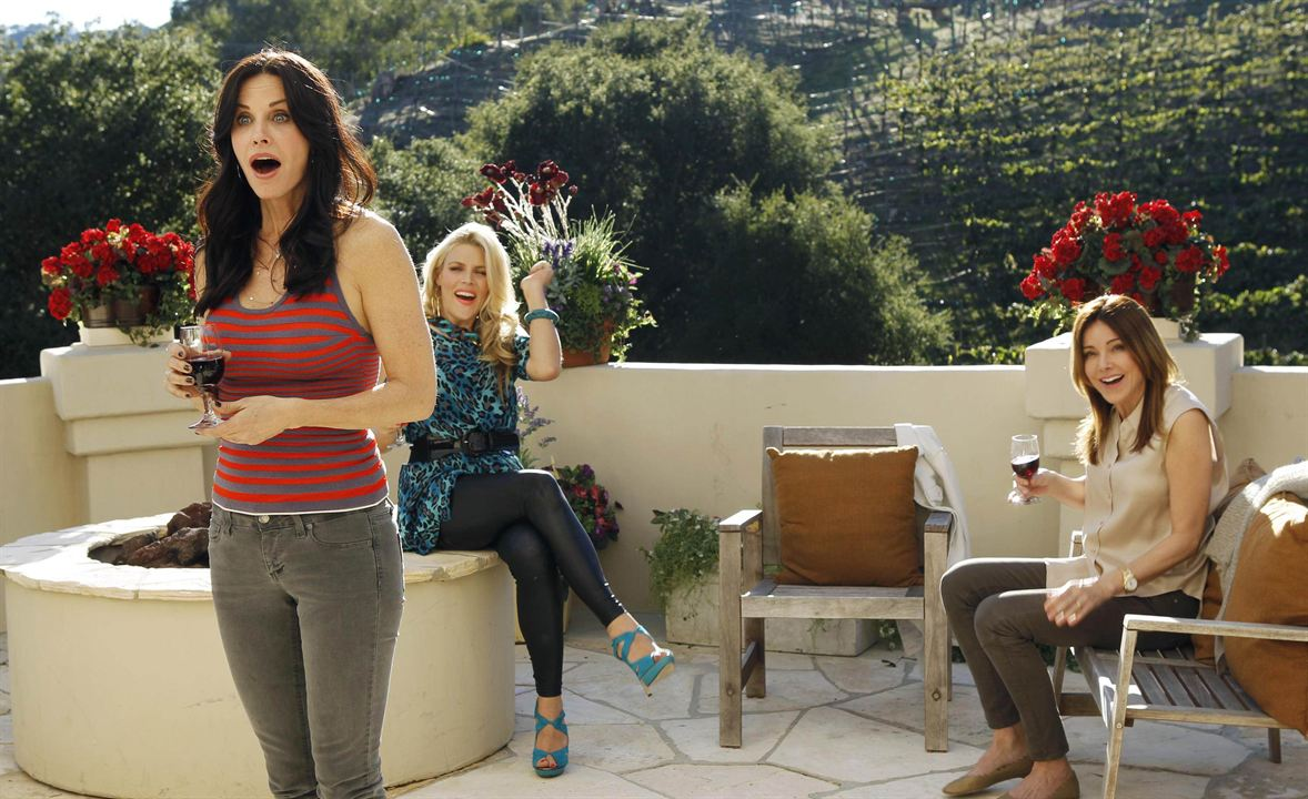 Bild Busy Philipps, Christa Miller-Lawrence, Courteney Cox