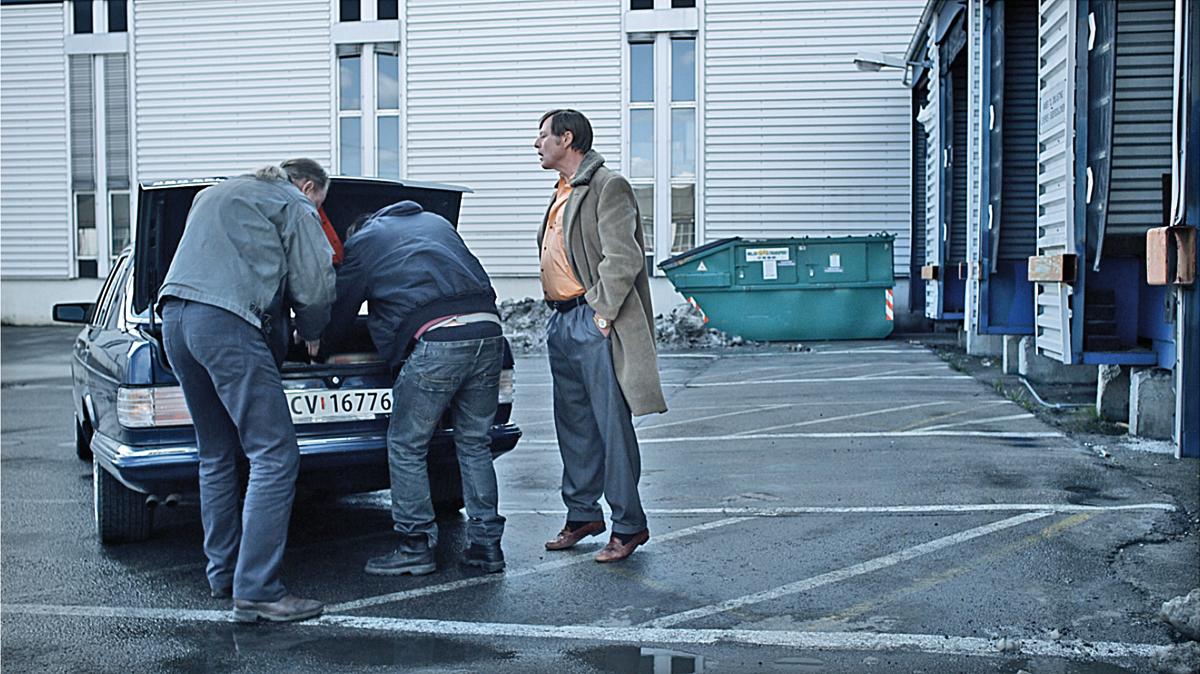 Ein Mann von Welt : Bild Bjorn Floberg, Hans Petter Moland, Stellan Skarsgård