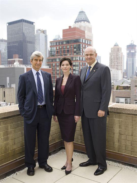 Law & Order : Bild Alana De La Garza, Fred Dalton Thompson, Sam Waterston