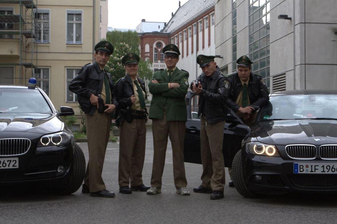 Bild Knacki Deuser, Lisa Feller, Murat Topal, Rolf Zacher, Tetje Mierendorf
