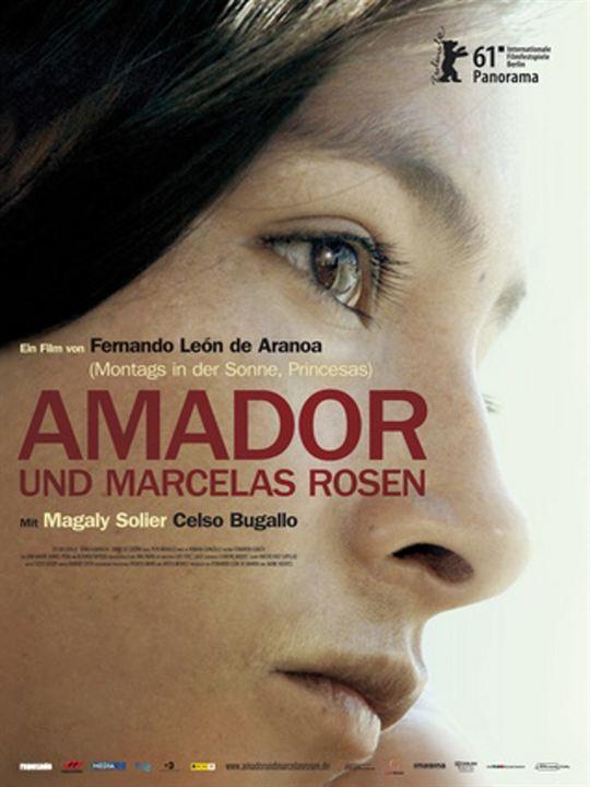 Amador und Marcelas Rosen : Kinoposter