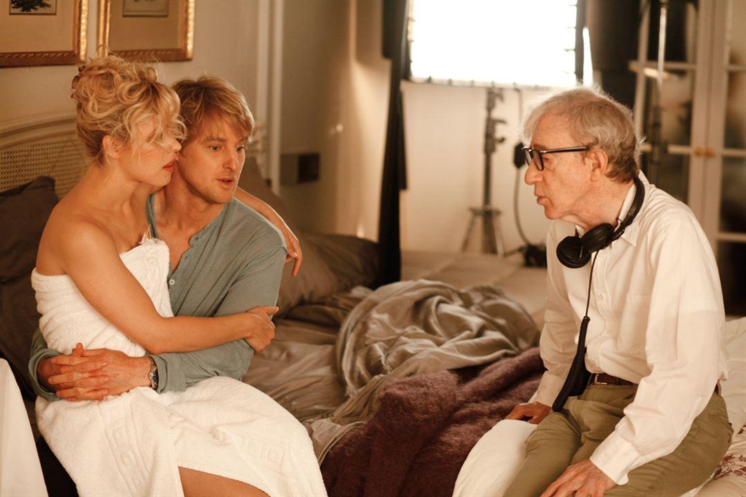Midnight In Paris : Bild Owen Wilson, Rachel McAdams, Woody Allen