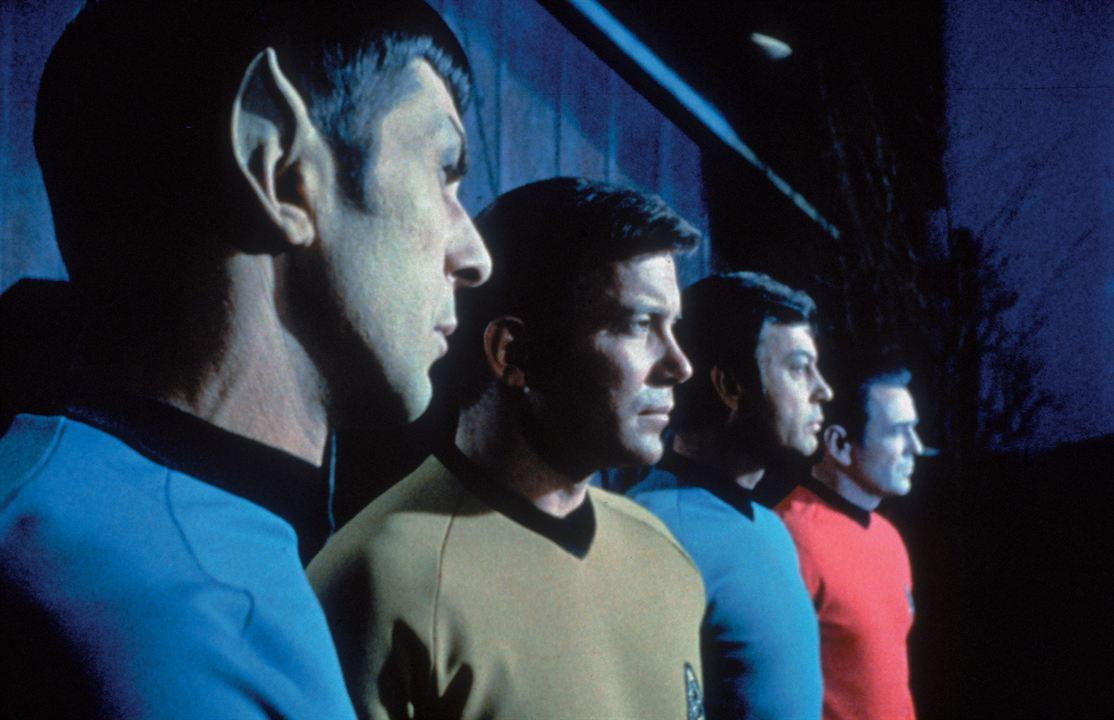 Raumschiff Enterprise : Bild DeForest Kelley, James Doohan, Leonard Nimoy, William Shatner