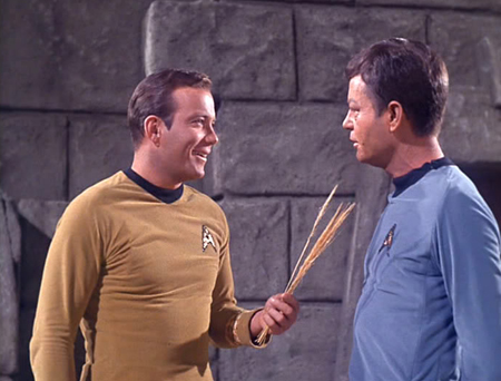 Bild DeForest Kelley, William Shatner