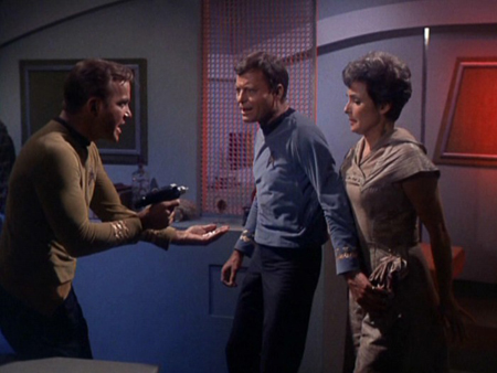 Bild DeForest Kelley, Jeanne Bal, William Shatner