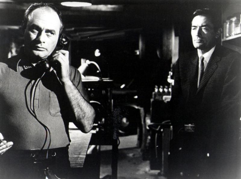 Ein Köder für die Bestie : Bild Gregory Peck, Martin Balsam