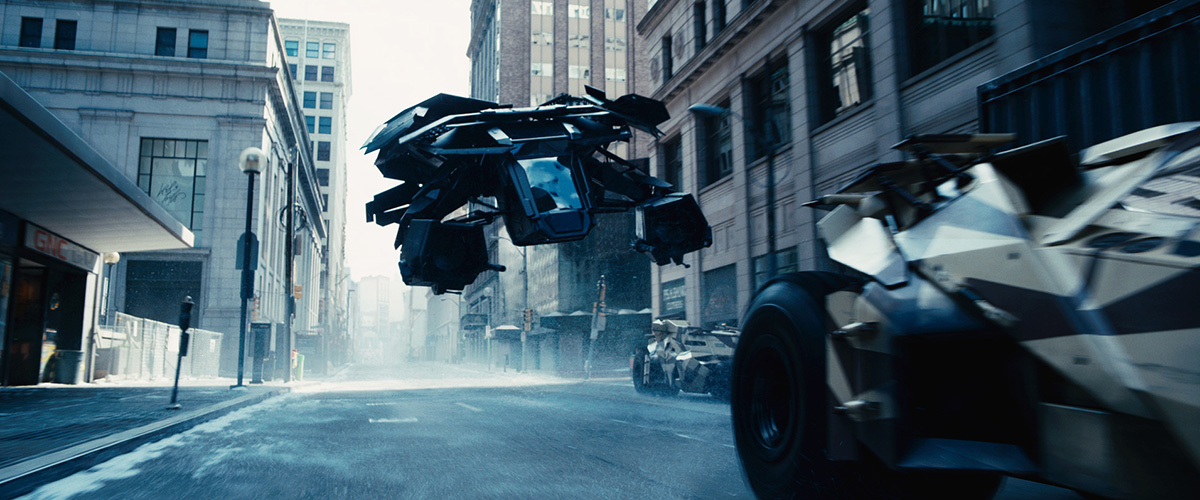 The Dark Knight Rises : Bild