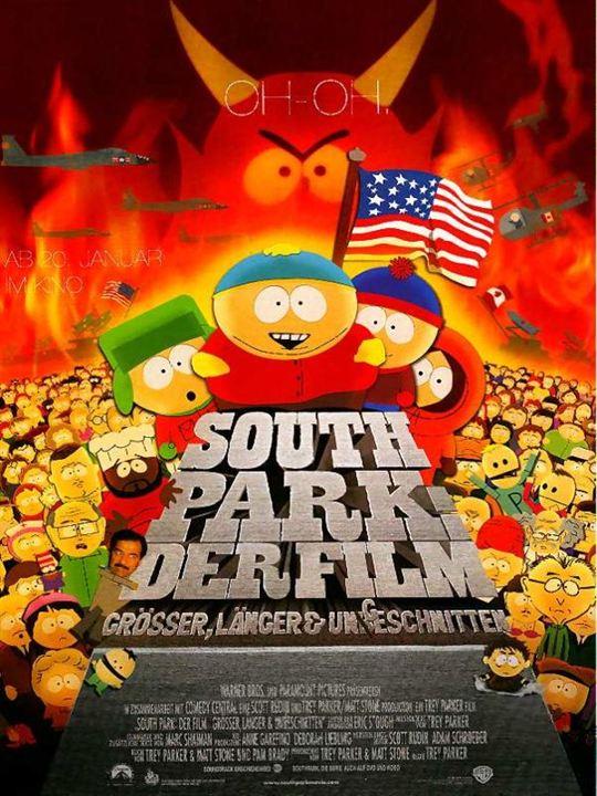 South Park - Der Film : Kinoposter