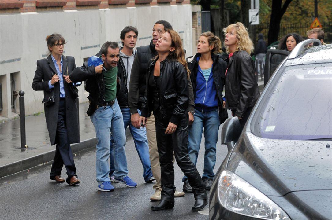 Poliezei : Bild Arnaud Henriet, Emmanuelle Bercot, Jérémie Elkaïm, JoeyStarr, Karin Viard