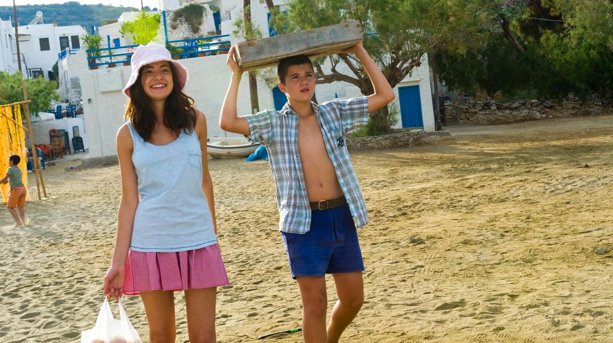 Ein griechischer Sommer : Bild Jade-Rose Parker, Olivier Horlait, Thibault Le Guellec