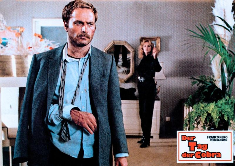 Der Tag der Cobra : Bild Enzo G. Castellari, Franco Nero, Sybil Danning