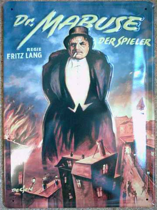 Dr. Mabuse, der Spieler - Ein Bild der Zeit : Kinoposter