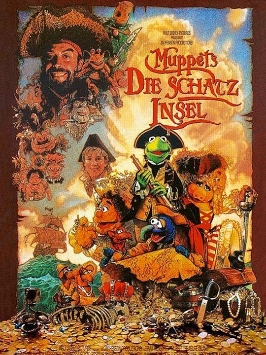 Muppets - Die Schatzinsel : Kinoposter