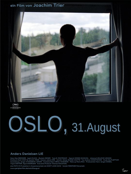Oslo, 31. August : Kinoposter
