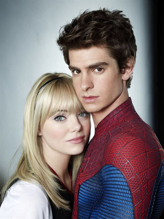The Amazing Spider-Man : Bild Andrew Garfield, Emma Stone