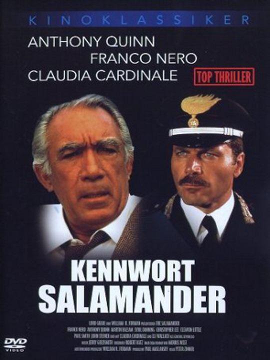 Kennwort - Salamander : Kinoposter
