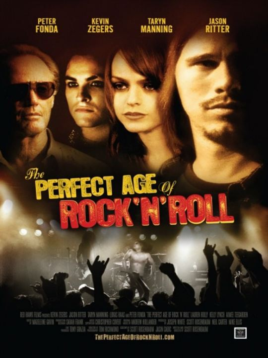 The Perfect Age of Rock 'n' Roll : Kinoposter