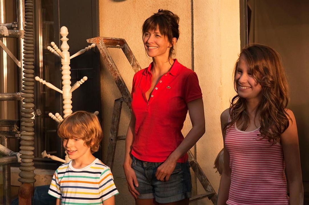 Und nebenbei das große Glück : Bild Miléna Chiron, Sophie Marceau, Timothé Gauron