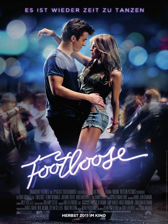 Footloose : Kinoposter