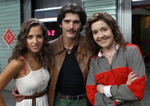 Los Quién : Bild Ana Carlota Fernández, Maria Pujalte, Yon González