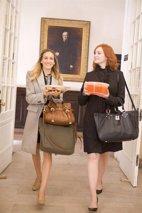 Der ganz normale Wahnsinn - Working Mum : Bild Christina Hendricks, Sarah Jessica Parker