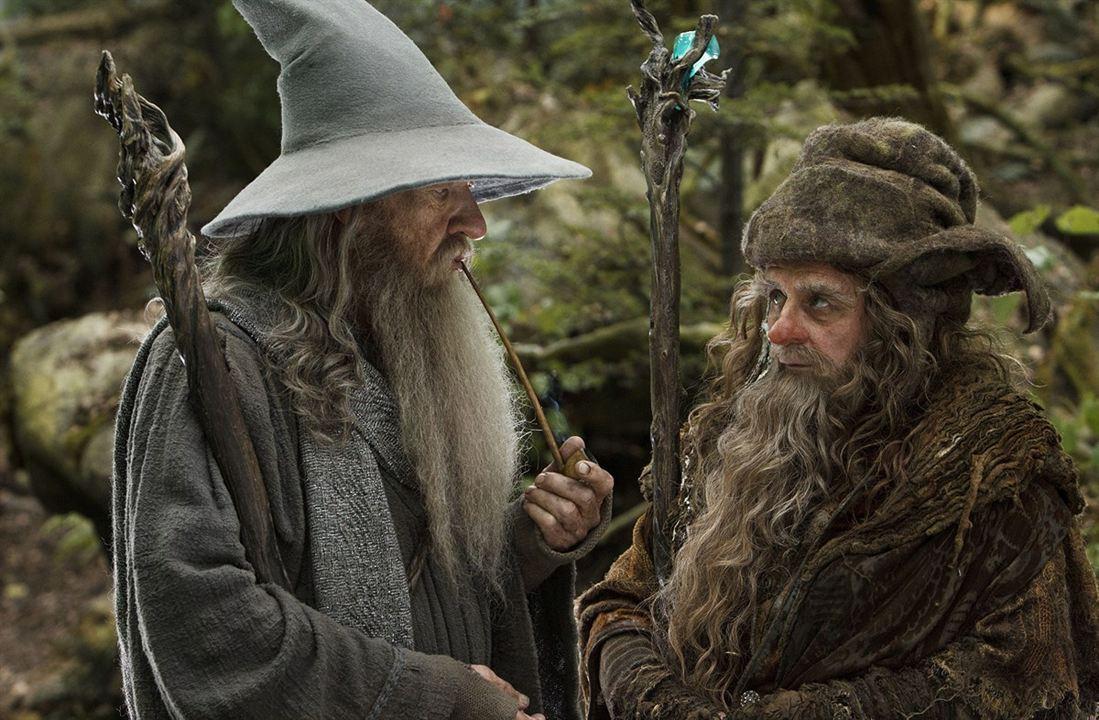 Der Hobbit: Eine unerwartete Reise : Bild Ian McKellen, Sylvester McCoy