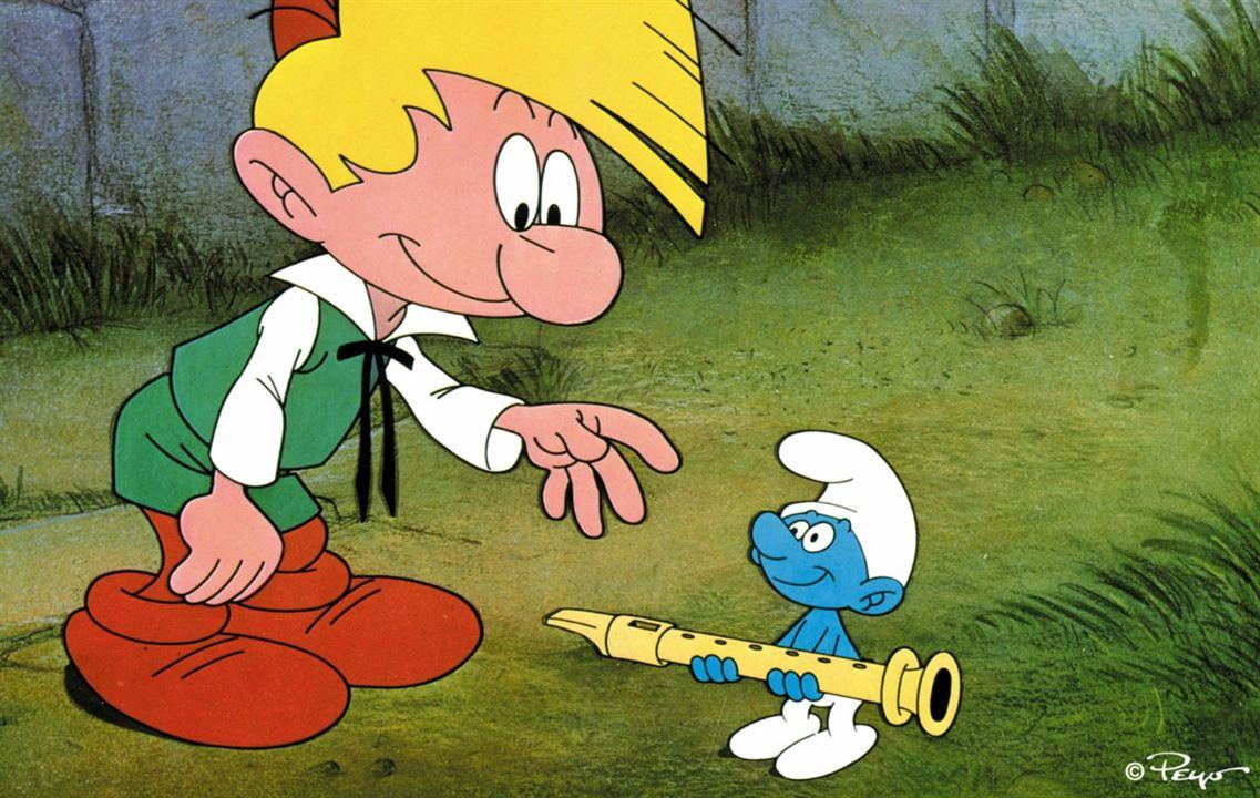 Die Schlümpfe und die Zauberflöte : photo