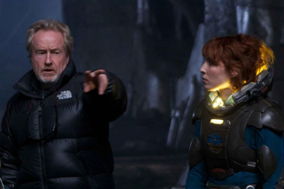 Prometheus - Dunkle Zeichen : Bild Noomi Rapace, Ridley Scott