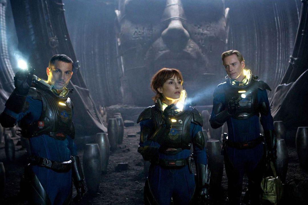 Prometheus - Dunkle Zeichen : Bild Logan Marshall-Green, Michael Fassbender, Noomi Rapace