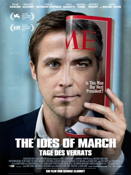 The Ides of March - Tage des Verrats : Kinoposter