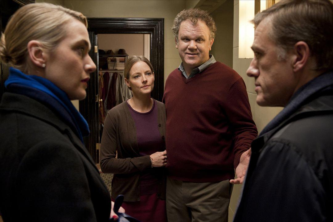 Der Gott des Gemetzels : Bild Christoph Waltz, Jodie Foster, John C. Reilly, Kate Winslet
