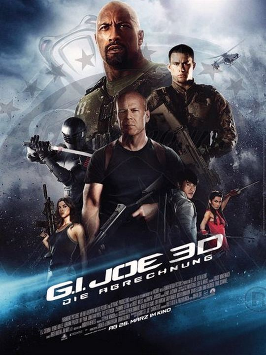 poster zum g i joe 2 die abrechnung bild 1. Black Bedroom Furniture Sets. Home Design Ideas