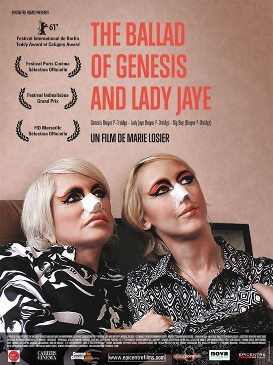 The Ballad of Genesis and Lady Jaye : poster
