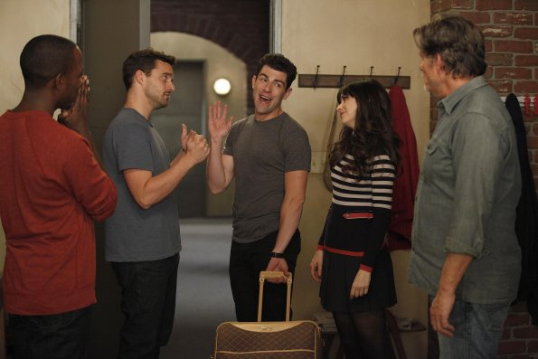Bild Jake Johnson (XVI), Jeff Kober, Lamorne Morris, Max Greenfield, Zooey Deschanel