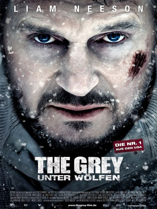 The Grey - Unter Wölfen : Kinoposter