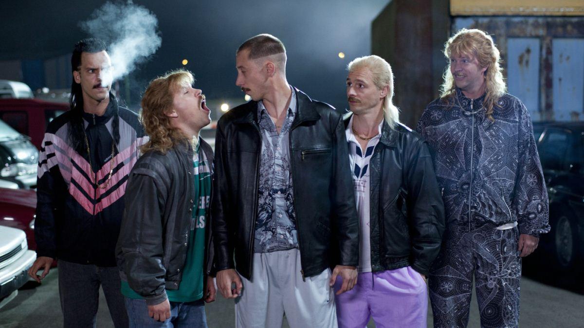 New Kids Nitro : Bild Flip Van der Kuil, Huub Smit, Steffen Haars, Tim Haars, Wesley van Gaalen