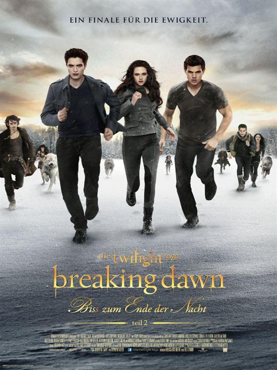 Twilight 4.2: Breaking Dawn - Bis(s) zum Ende der Nacht (Teil 2) : Kinoposter