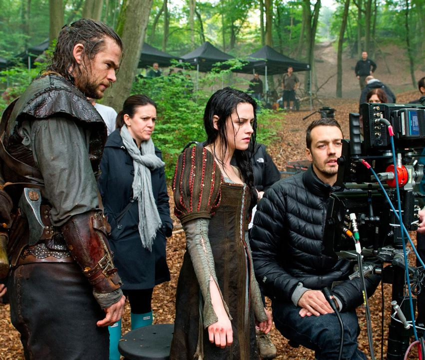 Snow White & The Huntsman : Bild Chris Hemsworth, Kristen Stewart, Rupert Sanders