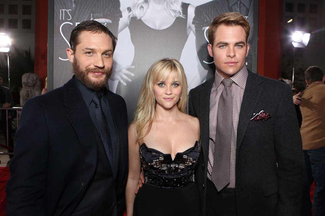 Das gibt Ärger : Bild Chris Pine, Reese Witherspoon, Tom Hardy