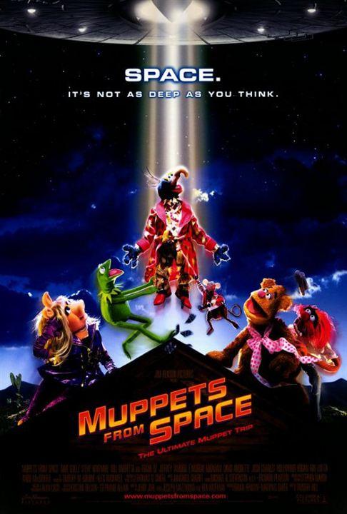 Muppets aus dem All : poster