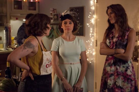 Bild Allison Williams, Lena Dunham, Zosia Mamet