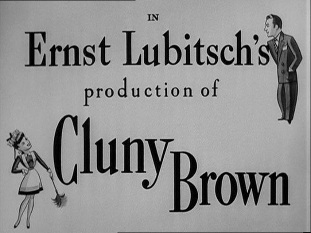 Cluny Brown auf Freiersfüßen : Bild