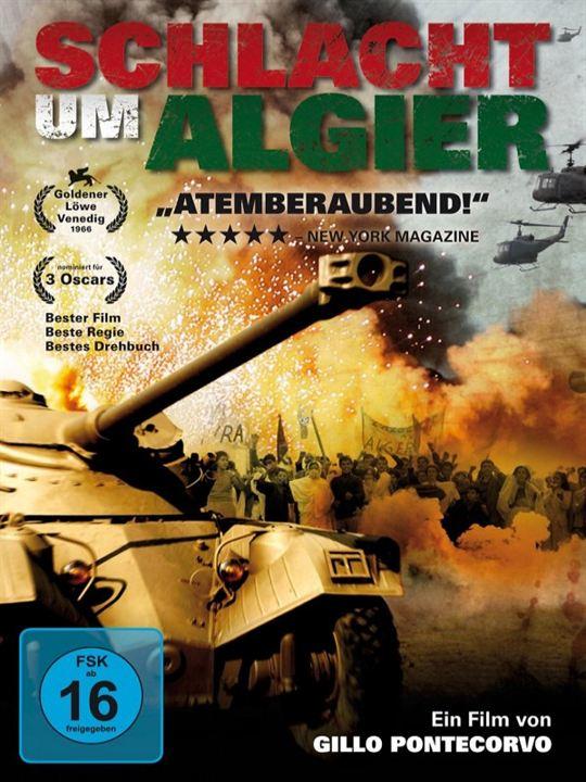 Schlacht um Algier : Kinoposter