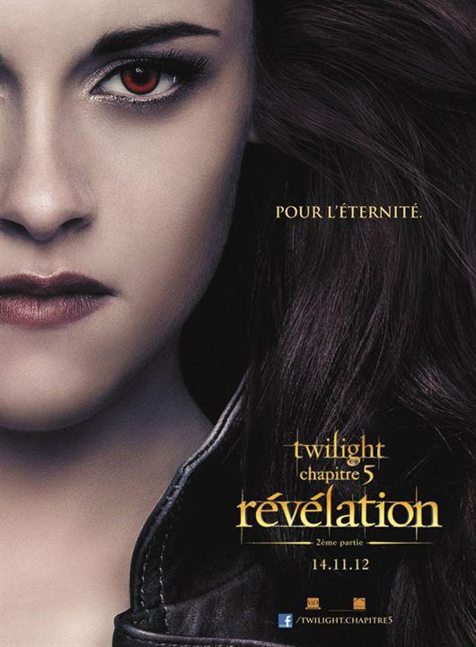 Twilight 4.2: Breaking Dawn - Bis(s) zum Ende der Nacht (Teil 2) : Kinoposter Stephenie Meyer