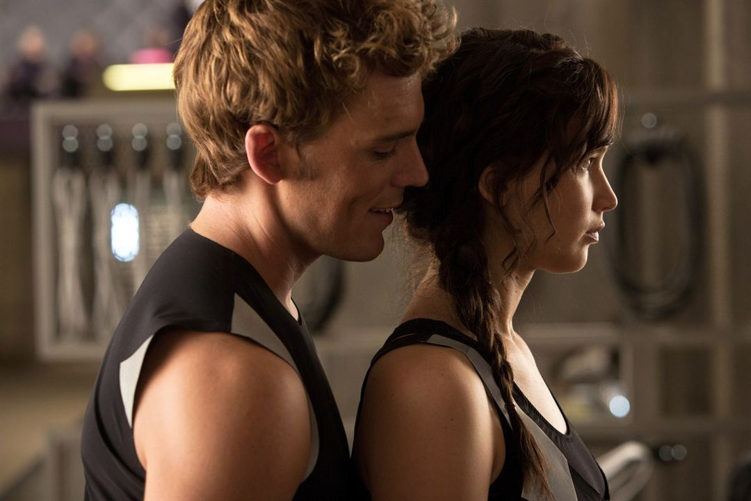 Die Tribute von Panem 2 - Catching Fire : Bild Jennifer Lawrence, Sam Claflin