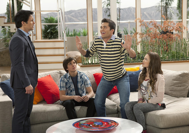 Bild Hal Sparks, Kelli Berglund, Spencer Boldman, William Brent (II)