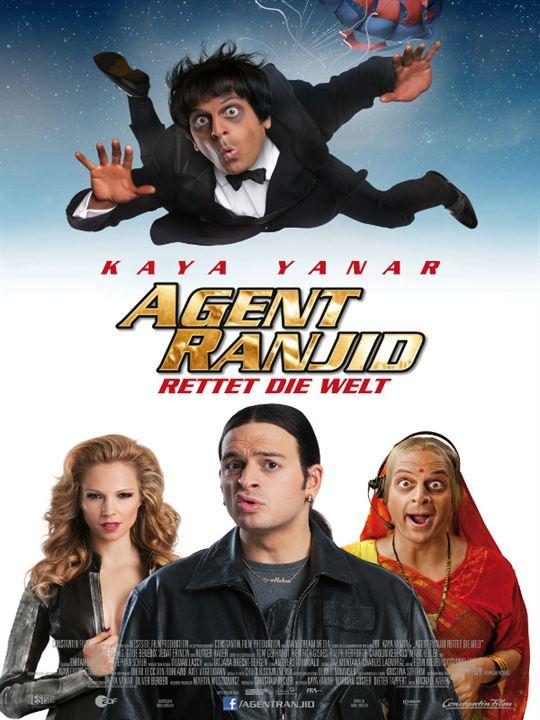 Agent Ranjid rettet die Welt : poster