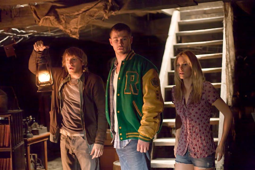 The Cabin in the Woods : Bild Anna Hutchison, Chris Hemsworth, Fran Kranz