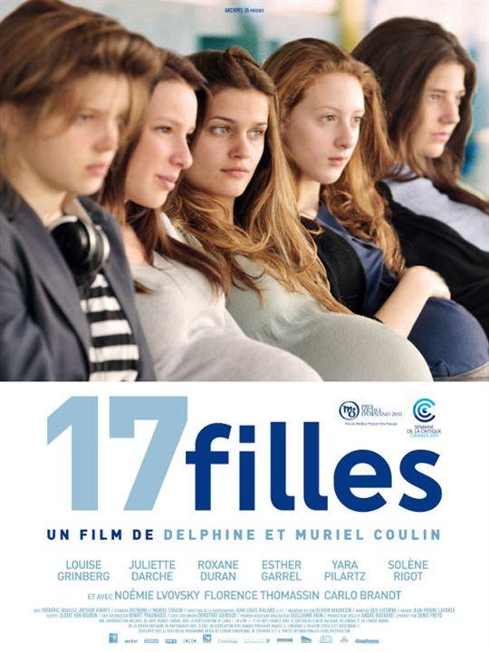 17 Mädchen : Kinoposter