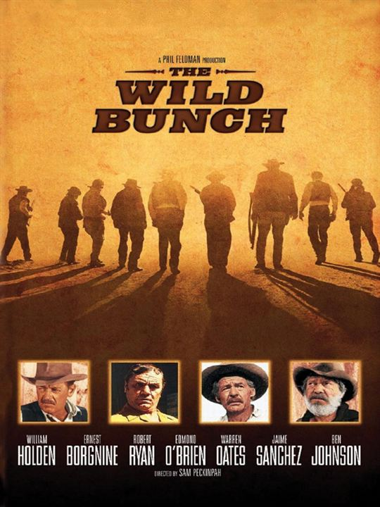 The Wild Bunch : Kinoposter